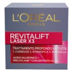 L'Oréal Paris Revitalift Laser X3 Crema Viso Profondo Anti-Età Giorno, 50 ml.