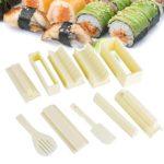 uca-kit-10-pezzi-di-sushi-maker-riso-rullo-produzione-stampi-bianco