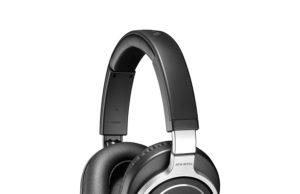 Audio Technica Pro ATH-M70X Cuffie di Monitoraggio Professionali, Nero/Argento