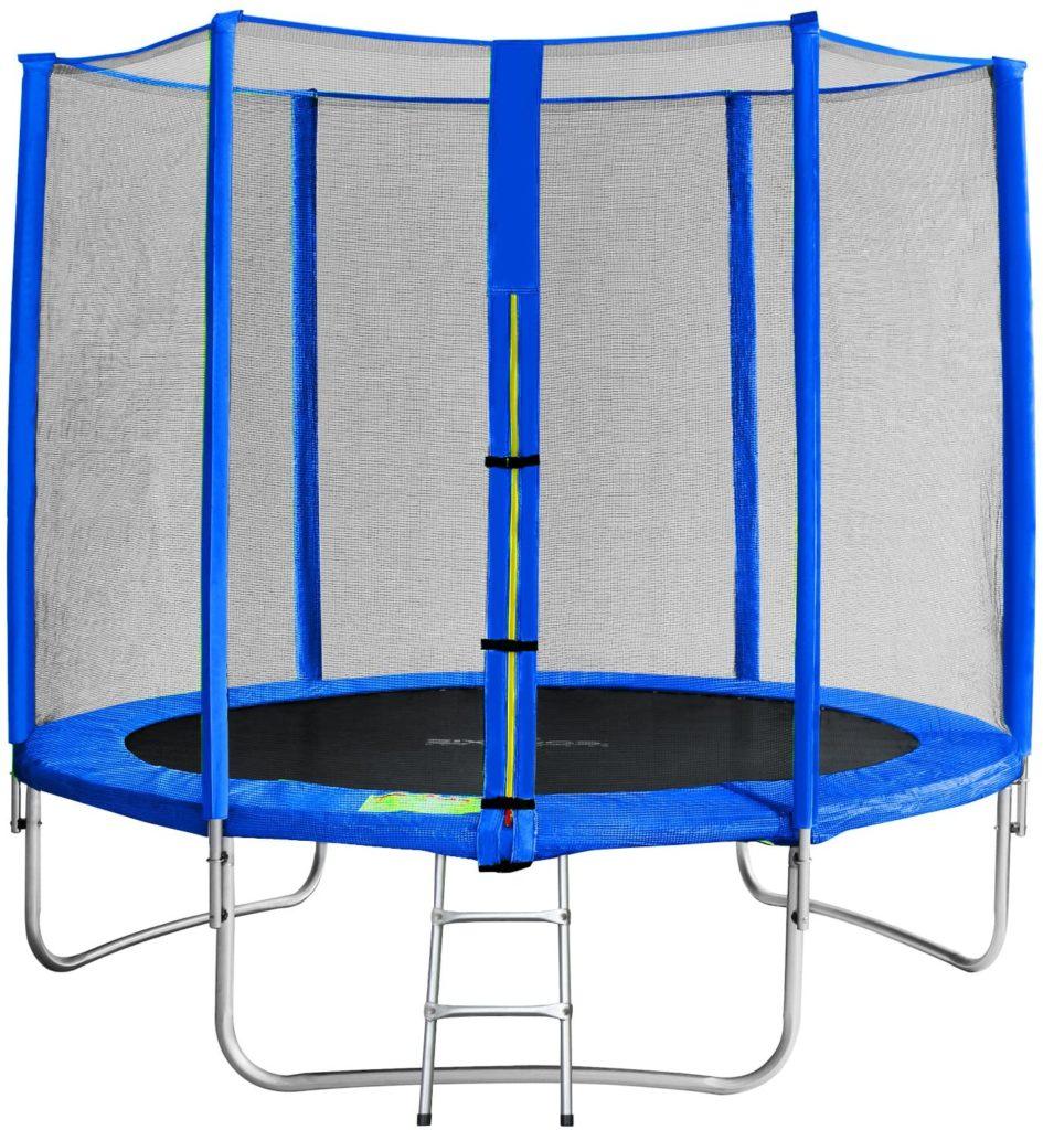 SixBros. SixJump 245 M Trampolino Elastico da Giardino Blu