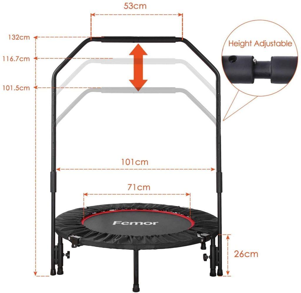 Trampolino Elastico Fitness