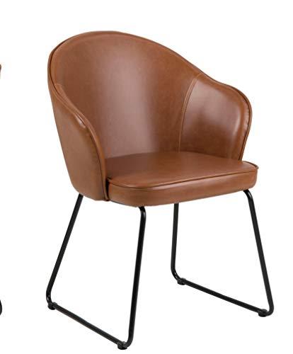 Amazon Brand Movian Sils Sedia da sala da pranzo 585 x 57 x 815 cm marrone 0