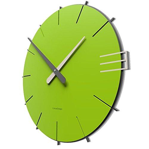 CalleaDesign 42 cm Orologio da Parete Mike Verde Mela 0