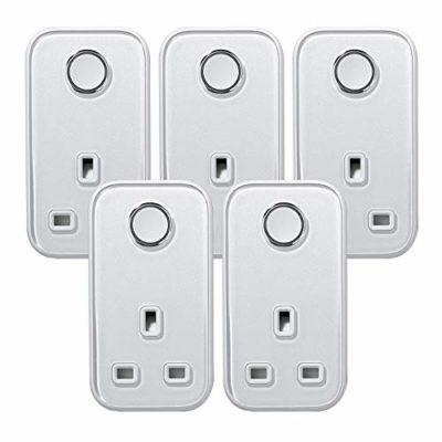 Hive Plug XMASLIGHT Smart Plug 5PKSMARTPLUG 0