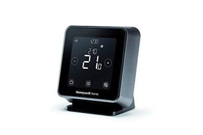 Honeywell Home T6R Termostato Wi Fi smart installazione wireless utilizzabile con app compatibile con Apple HomeKit Google Home Amazon Alexa e IFTTT Nero 0