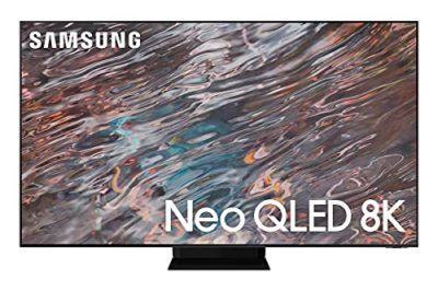 Samsung QE65QN800AATXZT Smart TV 65 Neo QLED 8K Ultra HD Processore Neo Quantum 8K con IA Quantum HDR OTS HDMI 21 Wi Fi Infinity One design Stainless Steel 2021 Alexa Google Assistant 0