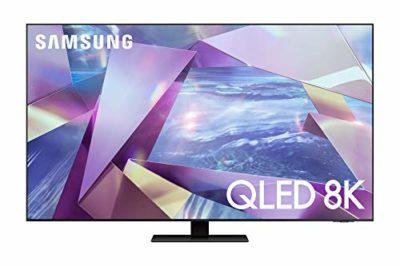 Samsung TV QE55Q700TATXZT Smart TV 55 Serie Q700T QLED 8K Wi Fi con Alexa integrata 2020 Titan Black 0