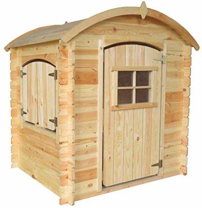 TIMBELA M505 1 Casetta in legno con fondo in legno per esterni 145 x 105 x 130 cm 11 m2 0